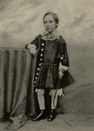 Robert Louis Stevenson - Robert Louis Stevenson at the age of seven