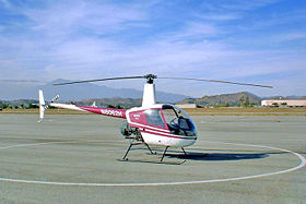Un Robinson R22 Beta, Riverside Municipal Airport