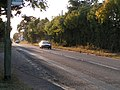 Rockbeare straight, the old A30, a Roman road, looking west - geograph.org.uk - 1517310.jpg