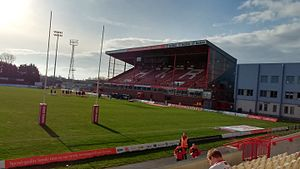 Craven Park, Hull - Roger Millward West Stand.