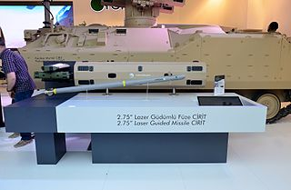 Roketsan Cirit Type of Air-to-surface, anti-armor and anti-personnel missile