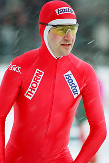 Rolf Falk-Larssen Norwegian speed skater