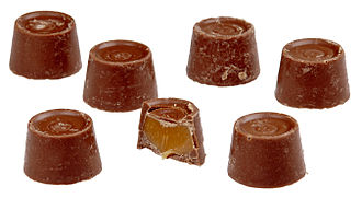 Frustum - Rolo brand chocolates approximate a right circular conic frustum, although not flat on top.