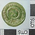 Roman Coin , Nummus of Consantine I (reverse) (FindID 653979).jpg
