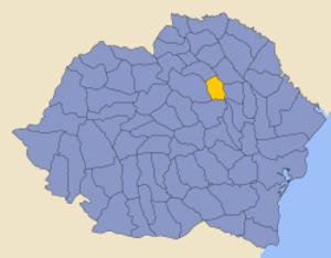 Roman County - Image: Romania 1930 county Roman