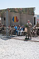 Romanian prime minister visits Black Scorpions to mark important transition 140629-A-JA114-005.jpg