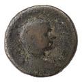 Romerskt bronsmynt - Skoklosters slott - 100333.tif