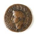 Romerskt bronsrmynt med Tiberius - Skoklosters slott - 110691.tif