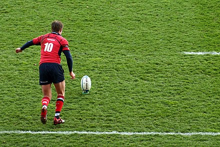 Ronan O'Gara avec son club du Munster, le 1er avril 2006 - Tournoi des Six Nations