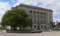 Rooks County, Kansas courthouse from SE 1.JPG