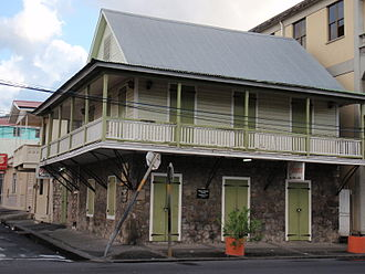 Saint George Parish, Dominica - Roseau's French Quarter