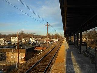 Roselle Park station NJ Transit rail station