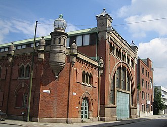 Moderna Museet Malmö - The former electricity plant building now housing the museum.