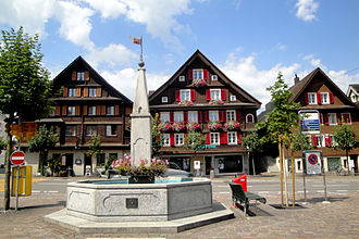 Rothenburg, Lucerne - Image: Rothenburg Flecken DSC04544