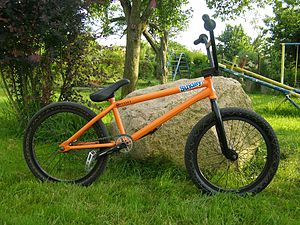Pump track - One of many bike types that can be used on a pump track.
