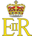 Royal Cypher of Queen Elizabeth II (in Scotland).svg