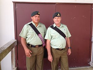 Uniforms of the New Zealand Army - Royal Regiment of New Zealand Artillery Dress uniform
