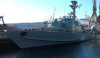 Montenegrin Navy - Image: Rtop 405