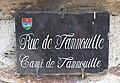 Rue du village de Cadeilhan-Trachère (Hautes-Pyrénées) 2.jpg