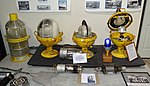 Runway lights and radar vacuum tubes from AN-FPS-26 or AN-FPS-35 radar unit - Oregon Air and Space Museum - Eugene, Oregon - DSC09911.jpg
