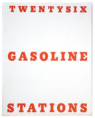Edward Ruscha - Twentysix Gasoline Stations, 1963, by Ruscha