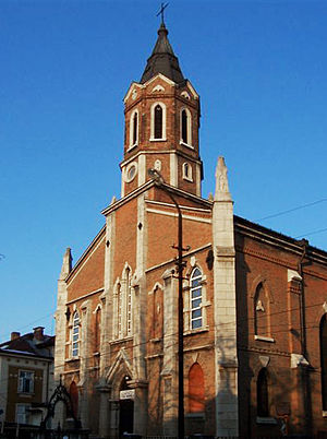 Roman Catholic Diocese of Nicopolis - The Cathedral of St Paul of the Cross in Ruse, Bulgaria