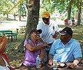 Rushern Baker 20120630 342 Exec Rushern Baker (yellow hat) (7507217260).jpg