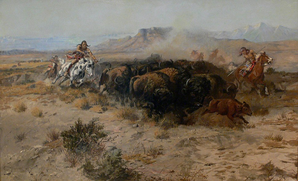 Russell The Buffalo Hunt No 26 1899