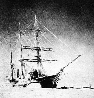 Laptev Sea - Zarya in 1902 during her second wintering