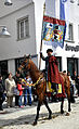 Rutenfest 2011 Festzug Patriziergesellschaft zum Esel Fahne.jpg