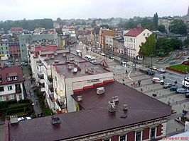 Plac Wolności w Rybniku