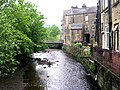 Ryburn Beck - Station Road - geograph.org.uk - 823805.jpg