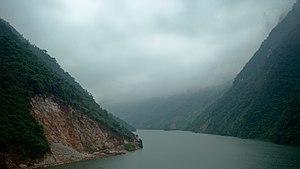 Black River (Asia) - Black River near Mường Lay town