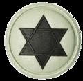 SANDF Qualification Chaplain Jewish badge embossed.png