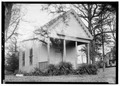 SCHOOL HOUSE (FACES EAST) - Thornhill Plantation, County Road 19, Forkland, Greene County, AL HABS ALA,32-WATSO,1-25.tif
