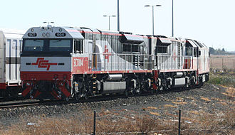 SCT Logistics - SCT class locomotives at Laverton in March 2008