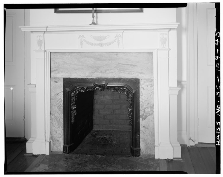 File second floor northwest room mantel detail william for 130 william street 5th floor