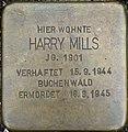 SG Stolperstein Harry Mills KSG 1005 pK.jpg