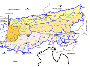 Western Rhaetian Alps - Image: SOIUSA Alpi Orientali sezione 15