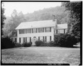SOUTHEAST (FRONT) ELEVATION - William Nyce House, U.S. Route 209, Egypt Mills, Pike County, PA HABS PA,52-EGYMI.V,1-1.tif