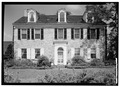 SOUTH FRONT - Rogers-Hoopes House, 1121 Fernhill Road (West Goshen Township), West Chester, Chester County, PA HABS PA,15-WCHES.V,4-1.tif