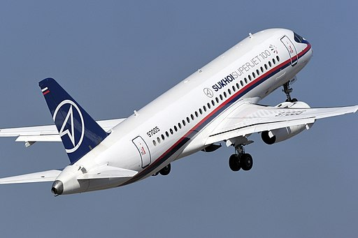 SSJ100 AeroIndia 2011 (5435359499)