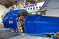 SSJ100 for Interjet - Painting the livery (8465016224).jpg