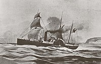 July 30: Steamer Brother Jonathan sinks.