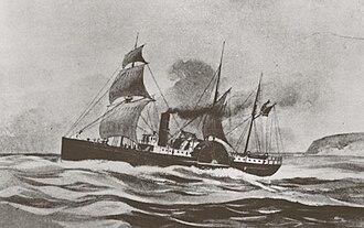 Brother Jonathan (steamer) - Image: SS Brother Jonathan 1862