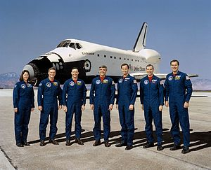 STS-49 - Image: STS 49 crew 2
