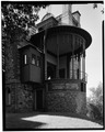 STUDIO PORCH, FROM NORTH - Olana, State Route 9G, Hudson, Columbia County, NY HABS NY,11-HUD,1-8.tif