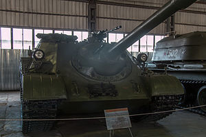 KPV heavy machine gun - Image: SU 122 54 in the Kubinka Museum
