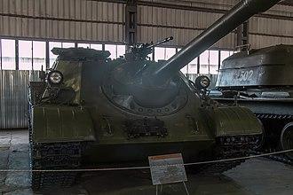 KPV heavy machine gun - Image: SU 122 54 in the Kubinka Museum