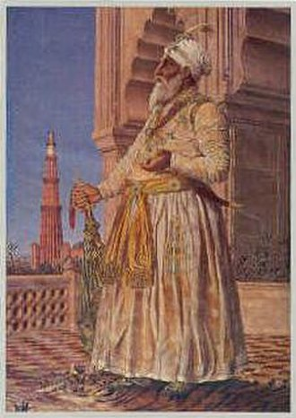 Awadh - Very powerful Saadat Ali Khan, the first Nawab of Awadh, who laid the foundation of Faizabad.